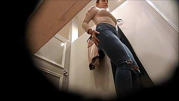 covert webcam filming the crimson-hot girl