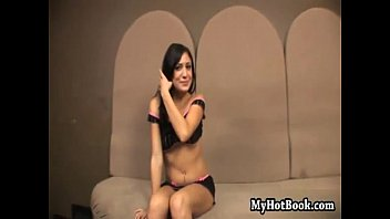 Samantha South is a lovely  Latin brunette teen  w