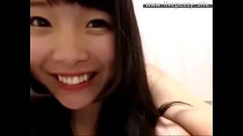 supah lovely japanese gal lovin' herself with lovemaking.
