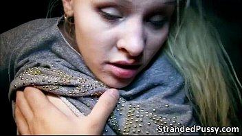 towheaded woman lola taylor gets vulva stuffed stiff.