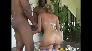 Interracial Anal with sexy blonde Ashly