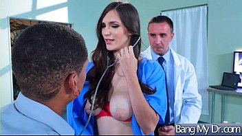 Doctor Seduced And Hard Bang A Horny Sexy Patient (Holly Michaels) video-09