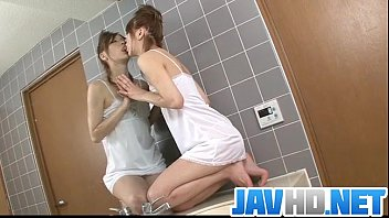 Horny babe finger fucking in sweet Asian solo