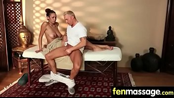 Deepthroat Blowjob From Big Tits Massage Girl 4