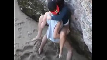 supah-steamy duo public romping caught -.