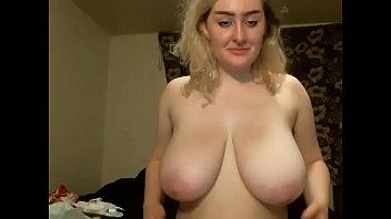 phat titties silver-blonde lady web cam.