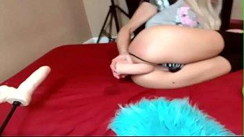Renata fucks her ass with panties slutcamsfree.com
