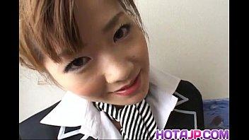 aizawa yu with yam-sized rump has neat-shaved muff pummeled