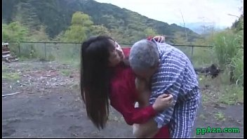 chinese damsel getting her gash munched and pulverized.