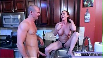 Sex Tape Action With Busty Horny Sluty Housewife (Diamond Foxxx) video-11