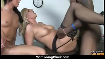luxurious mother gets a milky pearly facial cumshot.