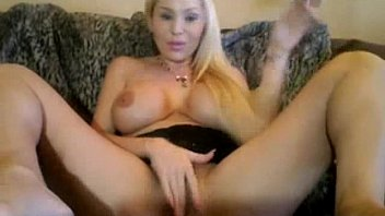 silver-blonde breezy with fat faux breasts and a faux-cock