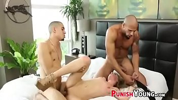 Brutal Rough Threesome Fucked Sydney Cole