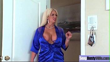(Alura Jenson) Sexy Busty Wife Love Hardcore Action Sex  movie-03
