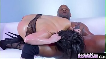 Anal Hardcore Sex With Hot Slut Big Ass Oiled Girl (Aleksa Nicole) video-04