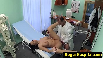 enormous-titted stunner pussyfucked on desk by.