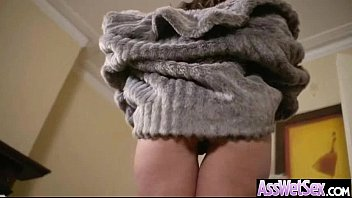 Horny Girl Get Her Big Butt Oiled And Banged Deep clip-27
