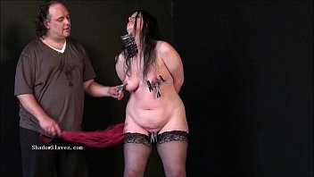 Bbw bdsm of fat runt in phobia electro fetish and cruel humiliating domination