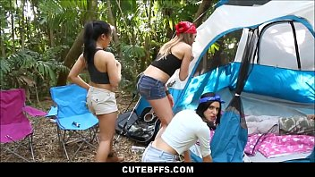 Hot Teen Camping Girls Fuck Lost Camping Guy