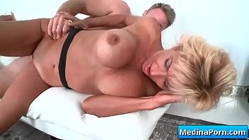 Horny mature wife likes to fuck young cock 08