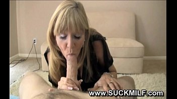 pov milf blowjob with hot milf