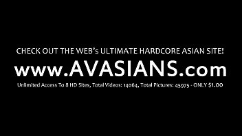 Anal and creampie for ass loving asian brunette