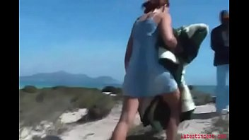 bitch sis smashes brother-in-law on the beach- family thing