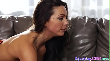 Sappho babe gets squirted over after oral