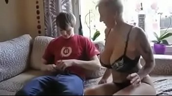 Busty step mom fucked by son'_s friend