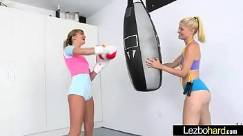 Teen Gorgeous Girls (Charlotte Stokely &amp_ Kenna James) Play Lovely In Sex Tape mov-27