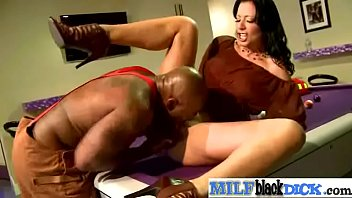 zoey holloway sizzling luxurious cougar rail large dark-hued.