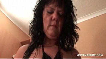 exhilarated mature damsel milking twat from.