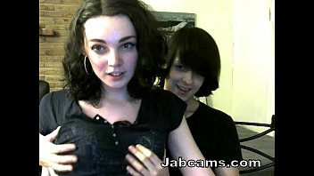 Small tits Amateur couple having fun on cam at Jabscam.com