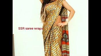Telugu aunty saree satin saree  sex video part 1