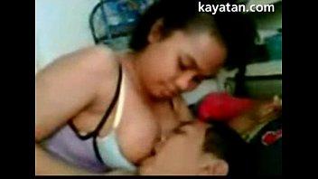 Malay Busty Babe Gives Blowjob