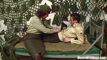 pierced snatch older army officer reprimands.