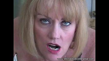 MILF Melanie Cock Suck Blowjob